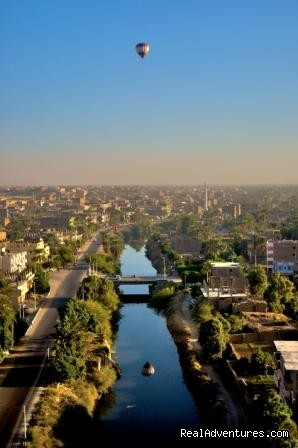 View of the Nile River in Luxor - Egypt Tours, Nile Cruises & Red Sea Diving