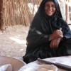 Bedouin Woman Making Bread