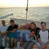 Friends Enjoying Their Liveaboard