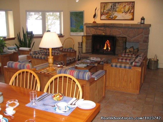 Fireside Lounge - Fairybay Guest House