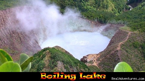 Boiling Lake, Morne Trois Pitons National Park - Nature Island Destinations Ltd.