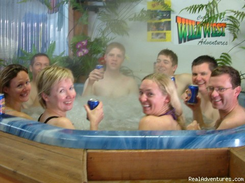 finish with a spa & beer or wine (#3 of 21) - Adventure New Zealand plus Free advice & discounts