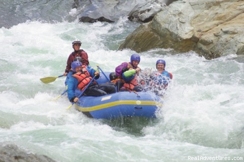 Rafting North Fork American, California - Mariah Wilderness California Rafting