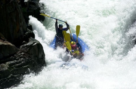 Middle Fork American River - Mariah Wilderness California Rafting