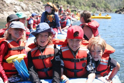 Great for Kids - Mariah Wilderness California Rafting