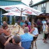 patio dining at the Last Drop