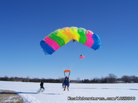 Skydive Year Round - Skydive Adventure - Omro, Wisconsin