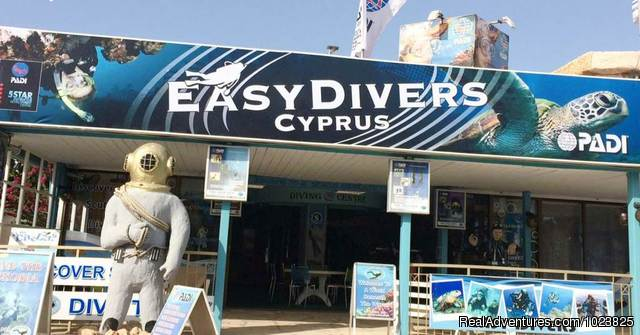 Scuba Diving Cyprus, Ayia Napa - Protaras: Easy Divers Shop Protaras