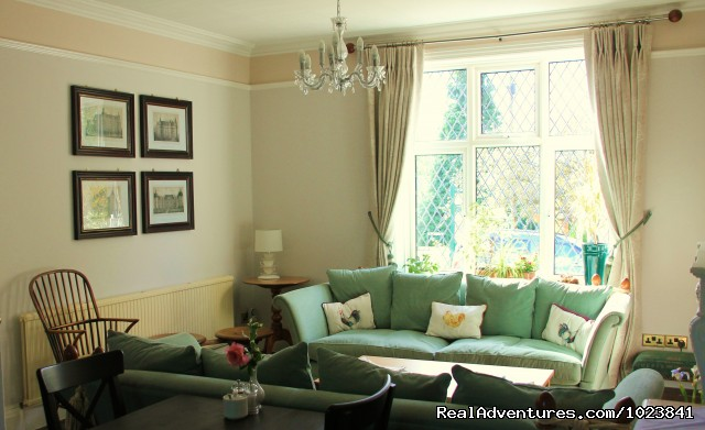 Sitting Room - WindrushHouse: treat yourself stay at Award Winner