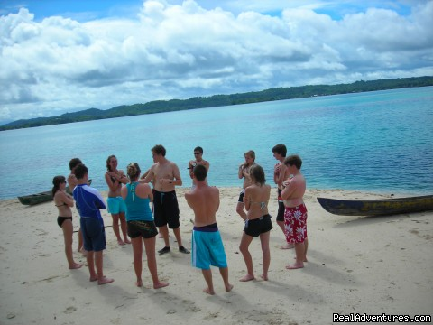 Checking out the water in Mexico - Broadreach Summer Adventures for Teens