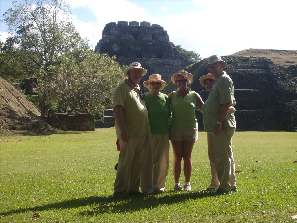 Guests at Mayan Ruins | Image #14/24 | Green Parrot Beach Houses & Resort