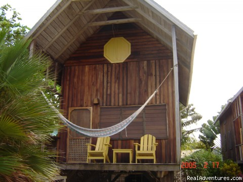 A typical cabana - Green Parrot Beach Houses & Resort