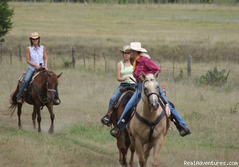 Trail Ride (#6 of 7) - Horsebacking Riding at the Running-R  Ranch
