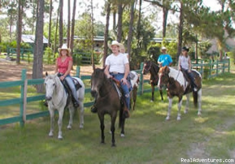 Horse Ranch for Riding Trails, Boarding & Getaways