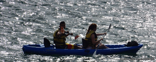 Go kayaking. Discover the Spanish Water. - Limestone Holiday, a comfortable, cosy eco resort