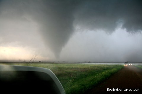 Objects in mirror are closer than they appear. (#3 of 7) - Tempest Tours Storm Chasing Expeditions
