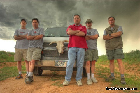 Ready for action - Tempest Tours Storm Chasing Expeditions