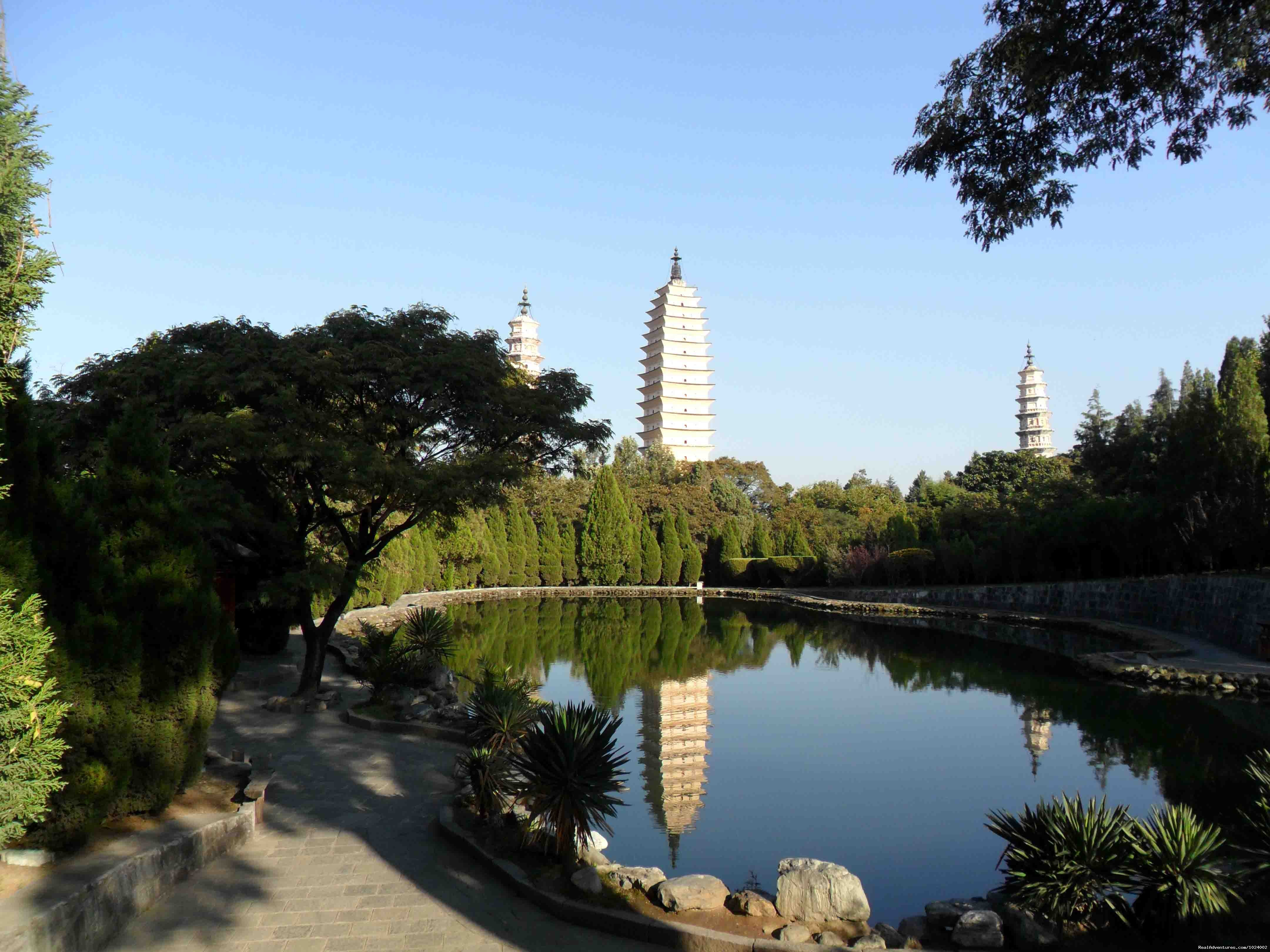Three Pagodas Dali Reflecting Pond | Image #16/26 | China Group and Private Tours