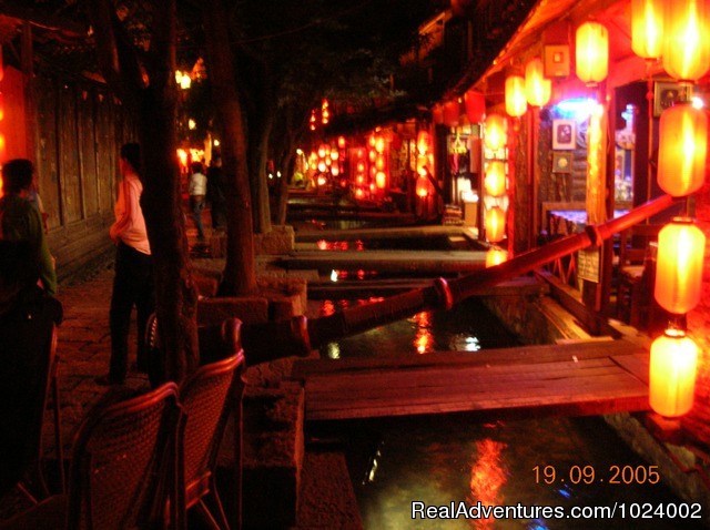 Lijiang China at Night - China Group and Private Tours
