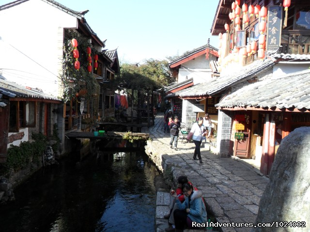 Ancient Canal Lijiang - China Group and Private Tours