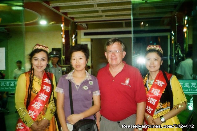 Hotel Greeting - China Group and Private Tours