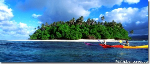 Nu'usafe'e island, south coast - Kayak Adventures in Samoa