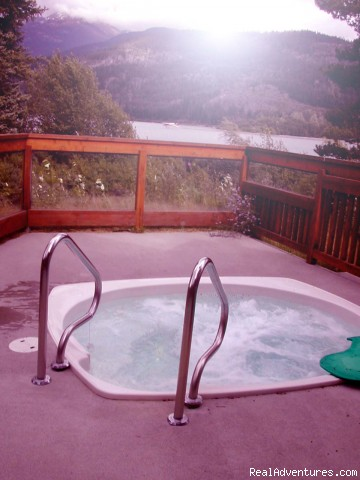 The relaxing machine - Lakeside bliss at Edgewater Lodge, Whistler, B.C
