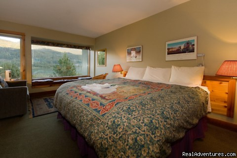 Your lakeside bedroom awaits you - Lakeside bliss at Edgewater Lodge, Whistler, B.C