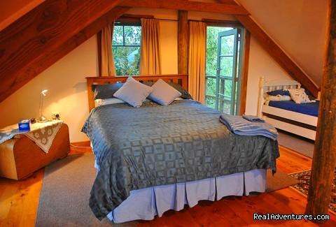 Upstairs bedroom - the Barn (#10 of 12) - Nelson Coastal Barnstay