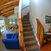 Lounge/stairs - Wheki Cottage
