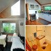 Dining/kitchen/bathroom - the Barn
