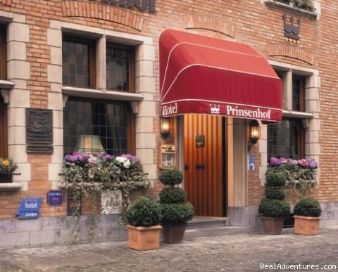 Front view - Hotel Prinsenhof