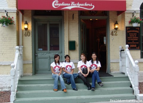 Canadiana Backpackers, Hostel Toronto