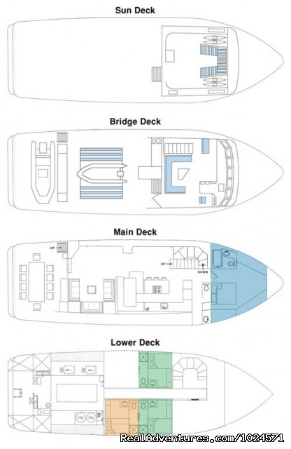 Northern Song layout - Alaska Sea Adventures YachtAlaska