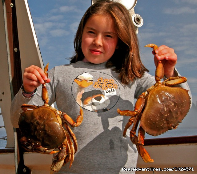 Fresh crab for dinner! - Alaska Sea Adventures YachtAlaska