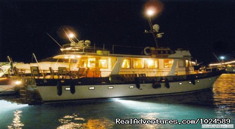 luxury Grand Banks yacht for hire (#4 of 13) - Mykonos Accommodation Center reservations & travel