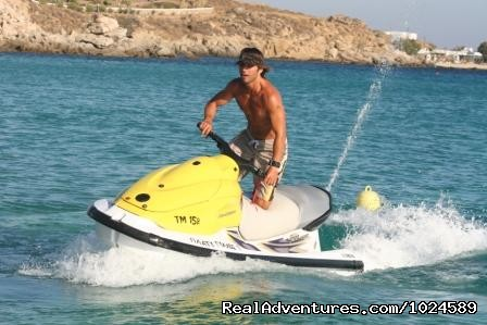 Mykonos watersports: water ski, ski jets and more - Mykonos Accommodation Center reservations & travel