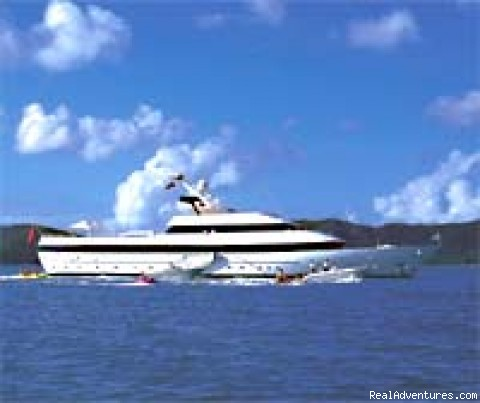 BLUE SHADOW - A Yacht Charters Worldwide