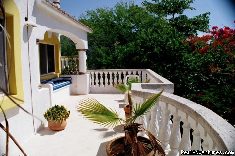 3rd level terrace - Casa Palmas Private pool 3 bdrm sleeps up to 10