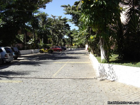 Parking area inside the condominium (#5 of 17) - Buzios Internacional Apart Hotel