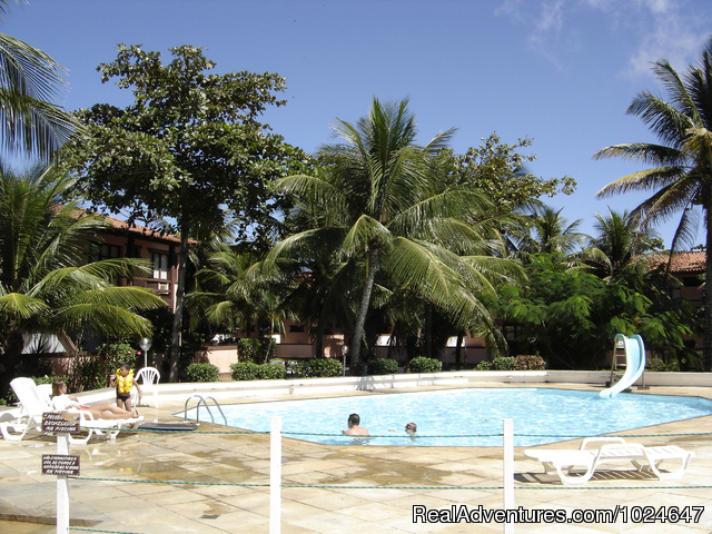 Buzios Internacional Apart Hotel: Swimming Pool in front of Coffee Shop and close to Sauna