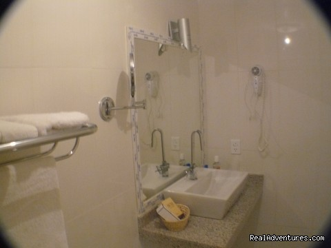 An apartment Bathroom (#10 of 17) - Buzios Internacional Apart Hotel