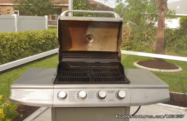 Gas Grill - Villa Florence close to Fort Myers and beaches