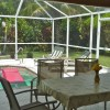 Villa Florence close to Fort Myers and beaches Patio with pool and garden