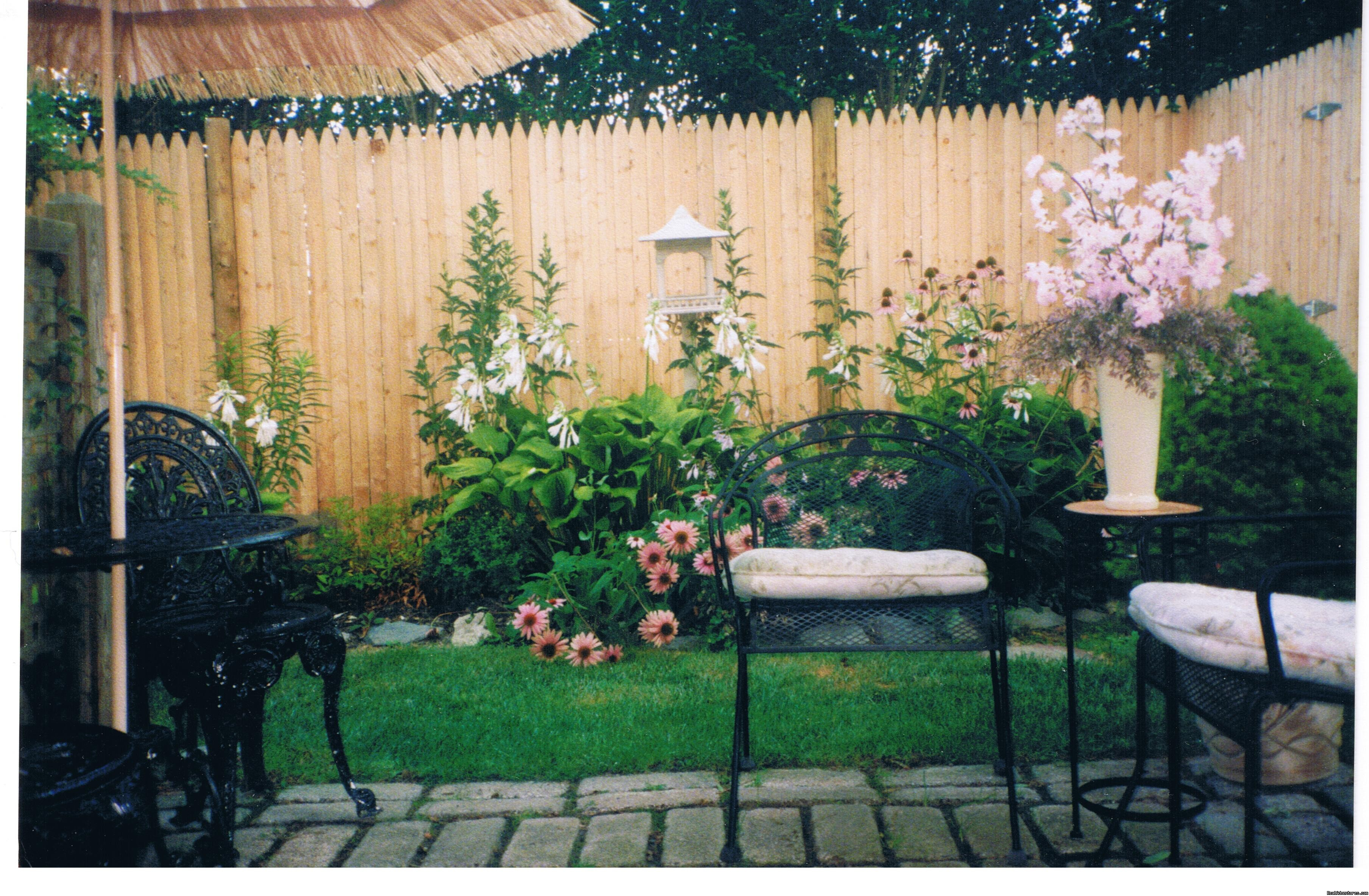 Murray House Garden area | Image #7/21 | Murray House Bed & Breakfast: It's a Special Place