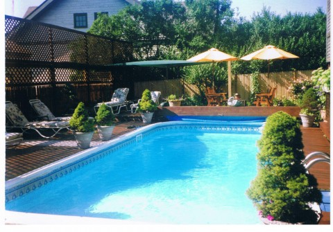 Murray House Bed & Breakfast: It's a Special Place: Murray House swimming pool