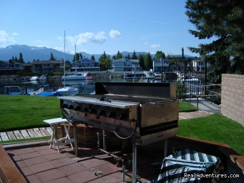 Outdoor Gas BBQ - Best Waterfront Home Hands Down. For Families