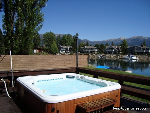 Large Outdoor Spa - Best Waterfront Home Hands Down. For Families