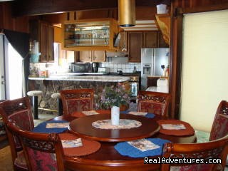 Dining and Kitchen - Best Waterfront Home Hands Down. For Families