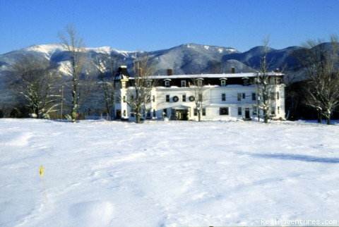 Winter Wonderland, overlooking skiing - A Grand Inn--Sunset Hill House